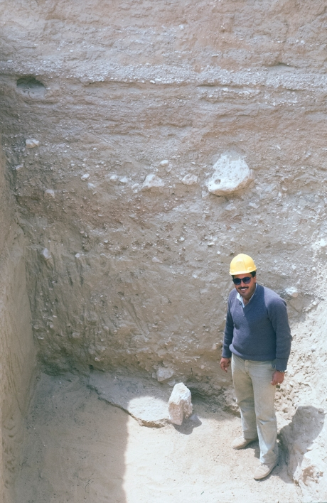 Digging for water: The city had an intricate water-supply network, facilitated partly by deep wells. This example, on the outskirts of the Main City, was excavated in 1987 under the supervision of Antiquities Inspector Ahmed Galal. It may have provided water for the Workmen's Village.